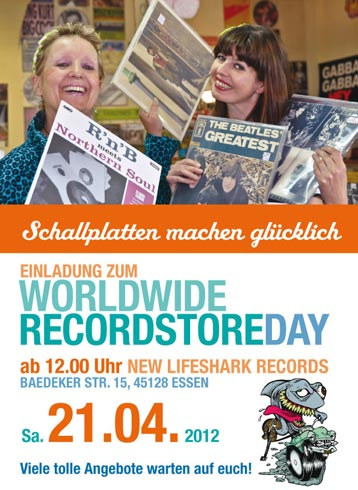 New Lifeshark Records - Recordstore Day 2012