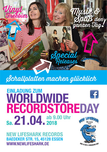 New Lifeshark Records - Recordstore Day 2018