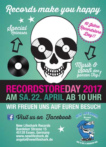 New Lifeshark Records - Recordstore Day 2017