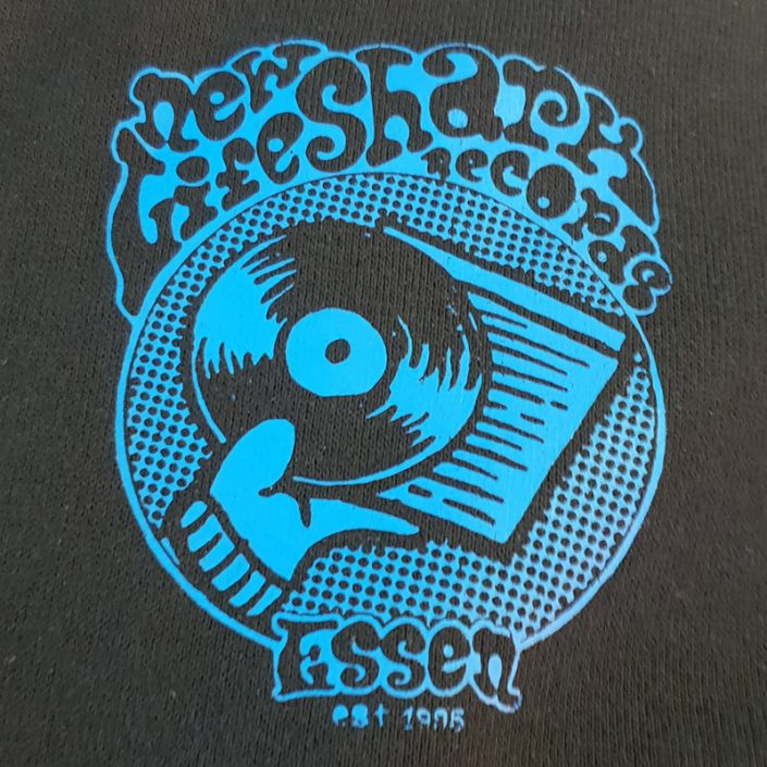 New Lifeshark Records - Pocket Logo Shirt