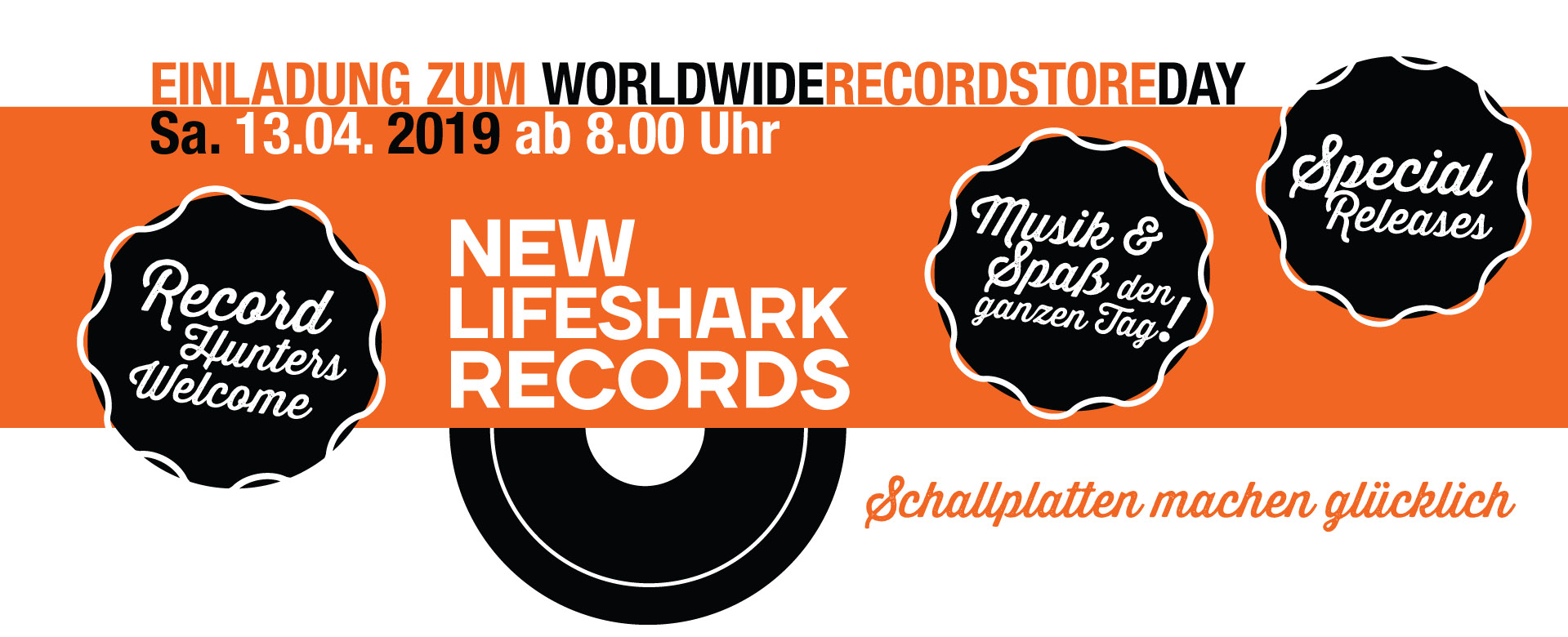 Record Store Day 2019 New Lifeshark Records Essen