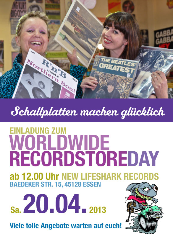 Recordstore Day New Lifeshark Records Essen